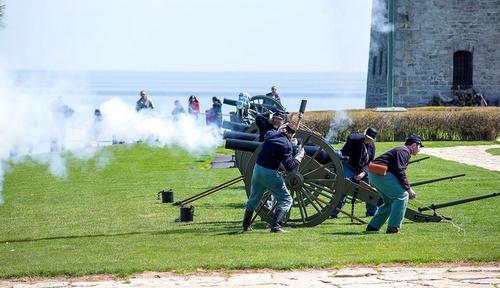 Old Fort Niagara Buffalo Yhdysvallat.