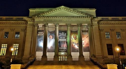 The Franklin Institute Philadelphia Yhdysvallat.