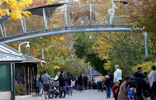The Philadelphia Zoo Yhdysvallat.