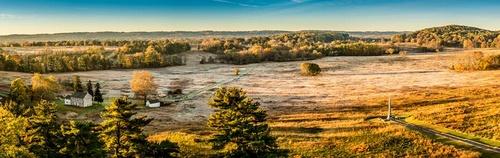 Valley Forge National Historical Park Philadelphia Yhdysvallat.