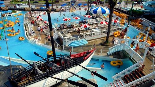 Big Kahuna's Water & Adventure Park Destin Florida Yhdysvallat.