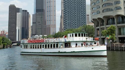 Chicago Architecture Foundation jokiristeily Chicago Yhdysvallat.