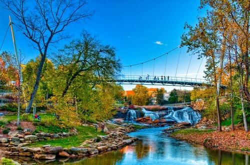 Greenville Etelä-Carolina Yhdysvallat.