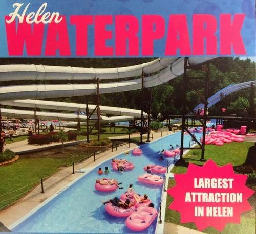 Helen Tubing & Helen Water Park Georgia Yhdysvallat.