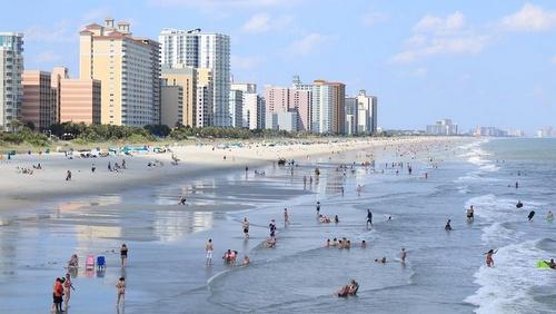 Myrtle Beach Etelä-Carolina Yhdysvallat.