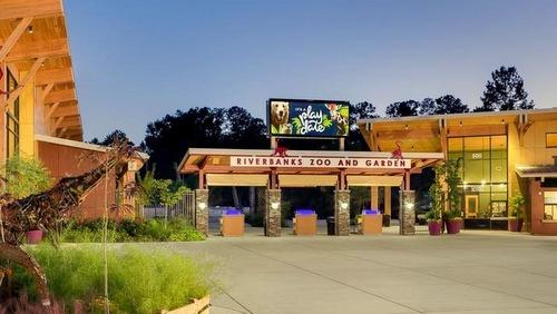 Riverbanks Zoo and Garden eläintarha Etelä-Carolina Yhdysvallat.