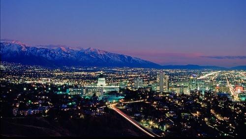 Salt Lake City Utah Yhdysvallat.