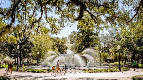 Savannah Georgia Yhdysvallat.
