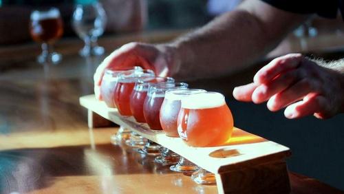 The Brewery Experience Greenville Etelä-Carolina Yhdysvallat.