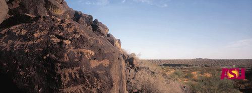 Deer Valley Petroglyph Preserve Phoenix Arizona Yhdysvallat.