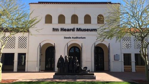 Heard Museum of Native Cultures and Art Phoenix Arizona Yhdysvallat.