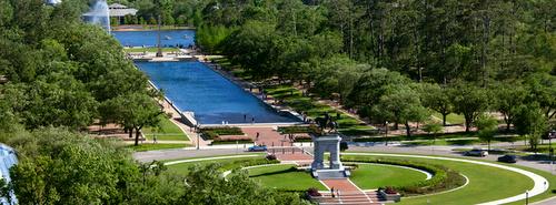 Hermann Park Houston Texas Yhdysvallat.