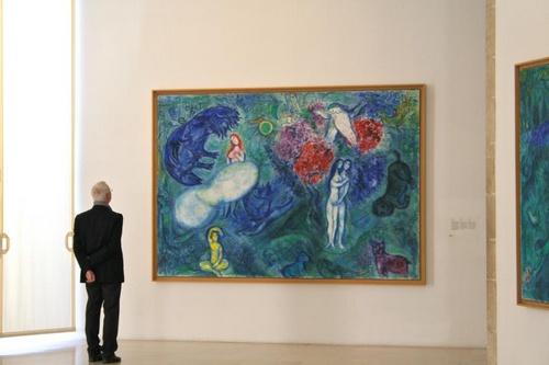 Musée national Marc Chagall Nizza Ranska.