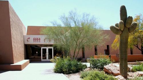 Pueblo Grande Museum and Archaeological Park Phoenix Arizona Yhdysvallat.