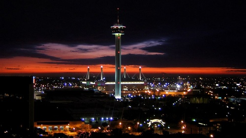 Tower of the Americas San Antonio Texas Yhdysvallat.