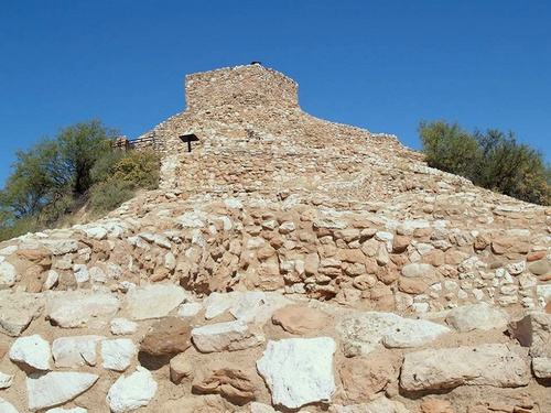 Tuzigoot National Monument Sedona Arizona Yhdysvallat.