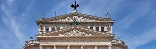 Alte Oper Frankfurt Saksa.