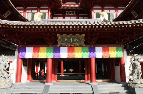 Buddha Tooth Relic Temple and Museum Singapore.
