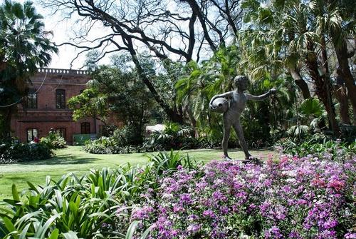 Jardín Botánico Buenos Aires Argentiina.