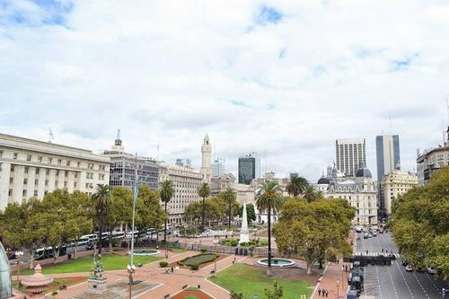 Plaza de Mayo Buenos Aires Argentiina.