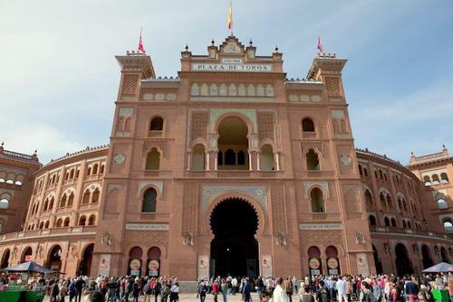 Plaza de Toros Las Ventas Madrid Espanja.