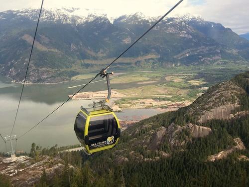 Sea to Sky Gondola Vancouver Kanada.