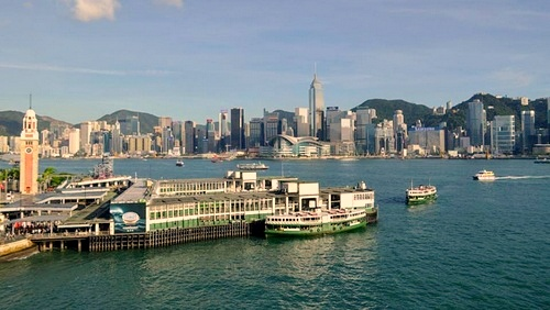 Star Ferry Hong Kong.