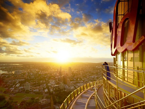 Sydney Tower Eye Australia.